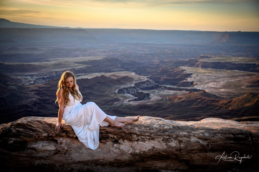 stunning senior photography moab