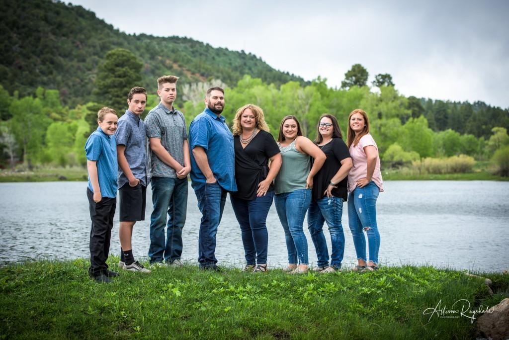 family portrait photographer Durango Colorado