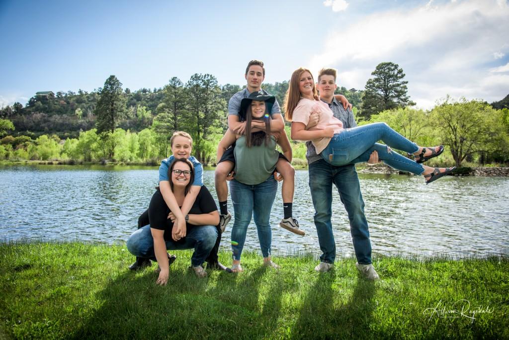 fun creative family portraits