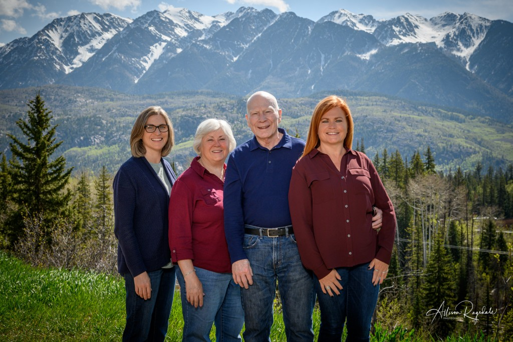 Family Portraits in Durango mountains, Demek family