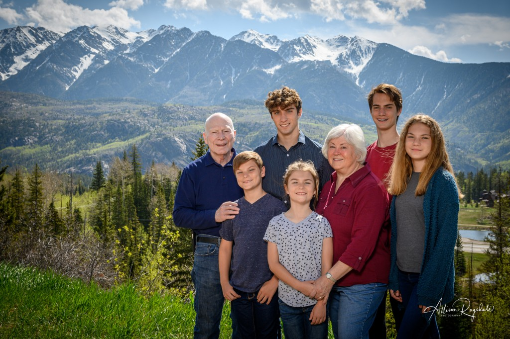 Family in Durango Mountains, the Demek Family