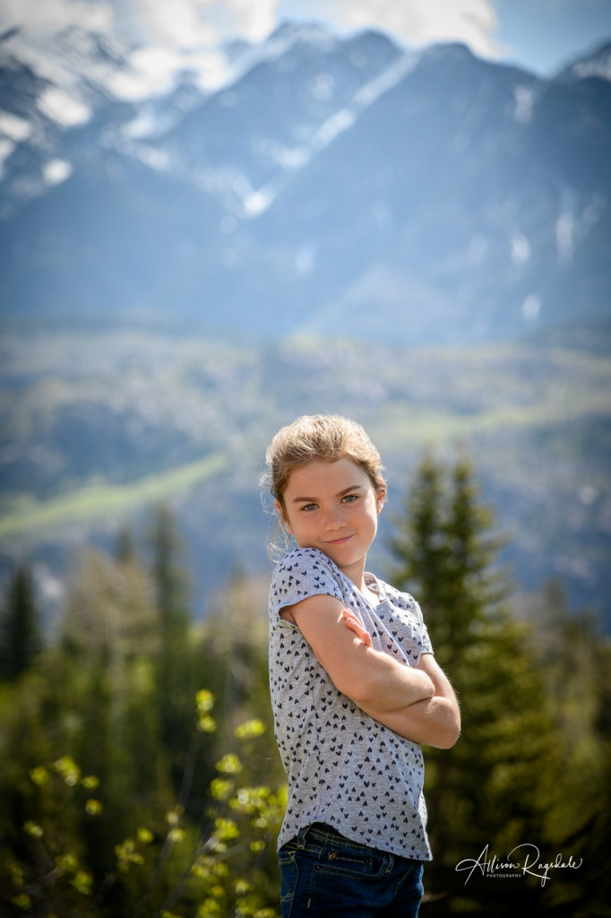Cute kid photography in Durango in the Mountains, the Demek Family