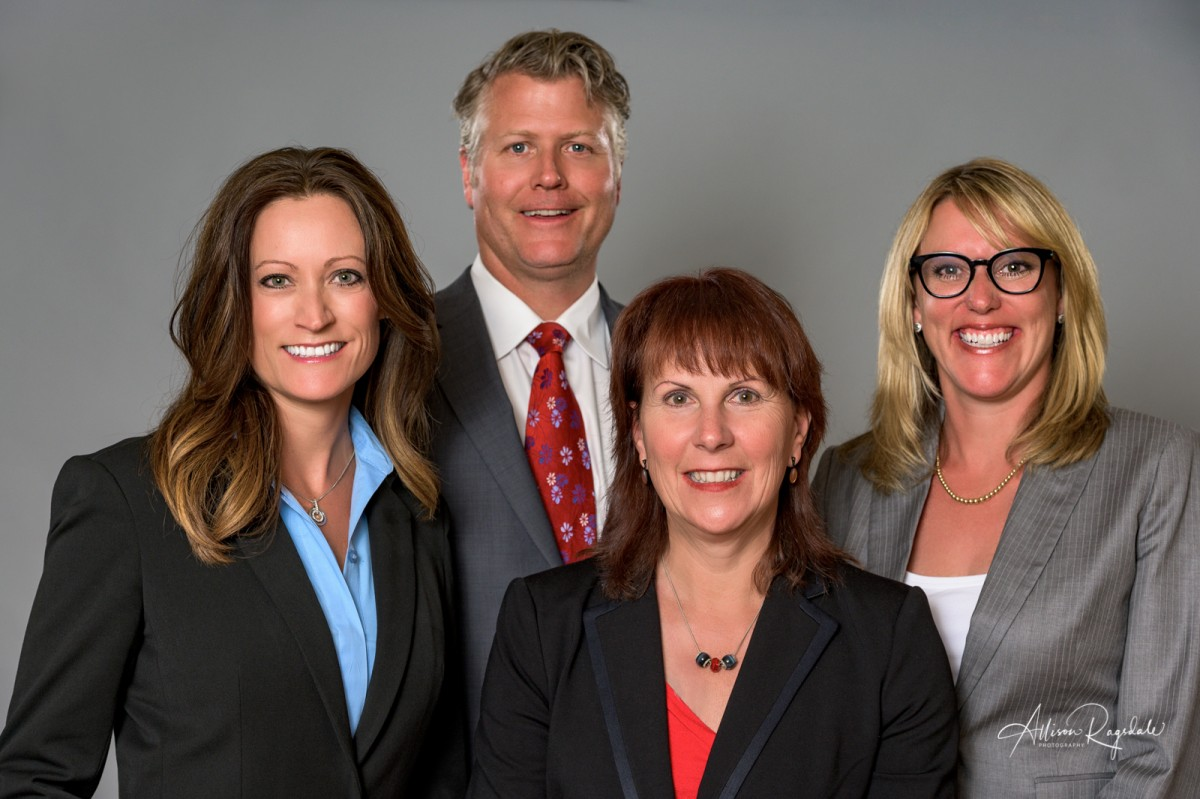 The Luthy McCallum Oyler Group in Durango, professional headshots