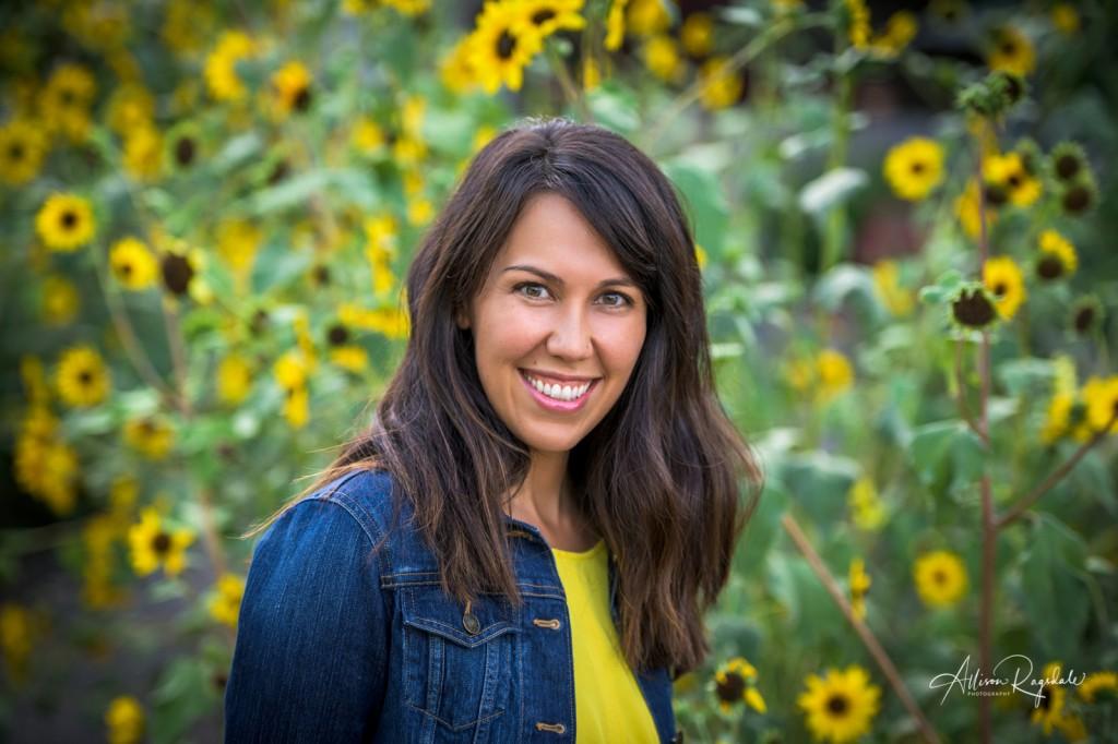 Sunflower headshots, Jennifer Clark