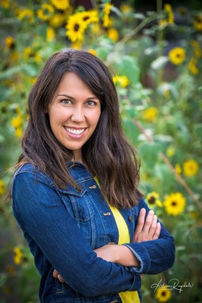 Professional headshots by Allison Ragsdale in Durango, CO, Jennifer Clark
