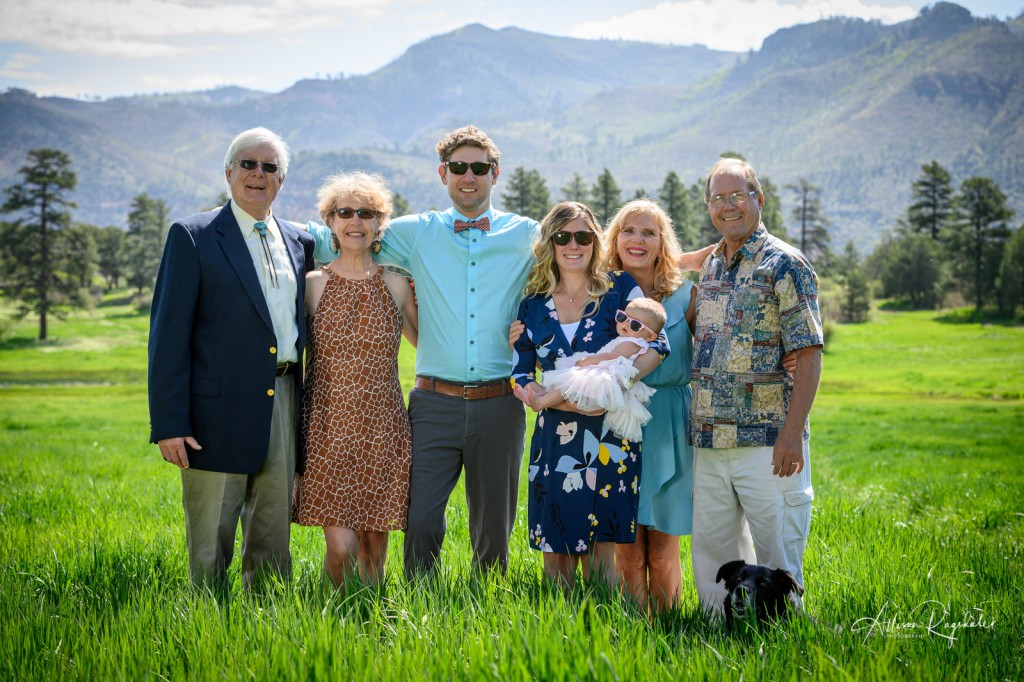 Family in the mountains, Mace Family Portraits