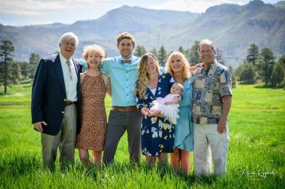 Family Portraits of the Mace Family in Durango
