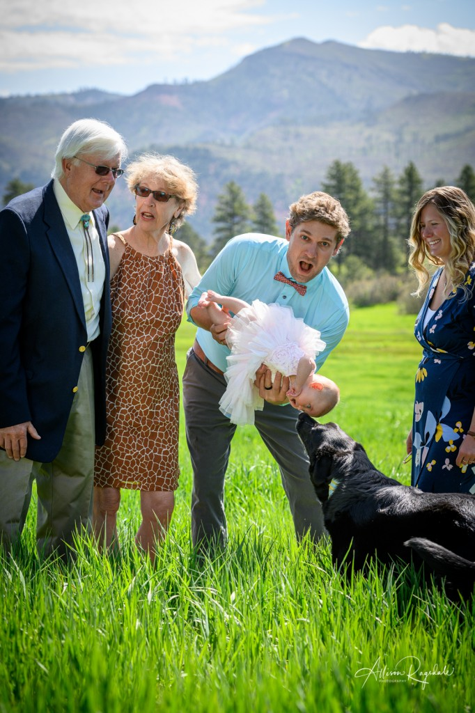 Funny Family Pictures in the mountains of Durango, The Mace Family