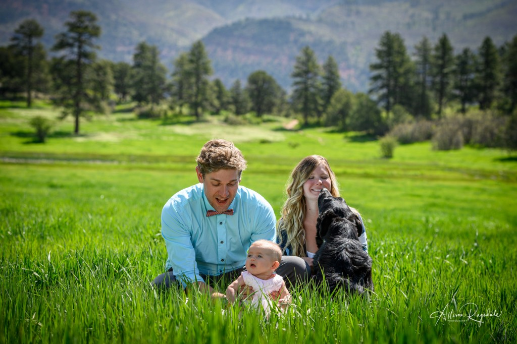 New family pictures outdoors, the Mace Family