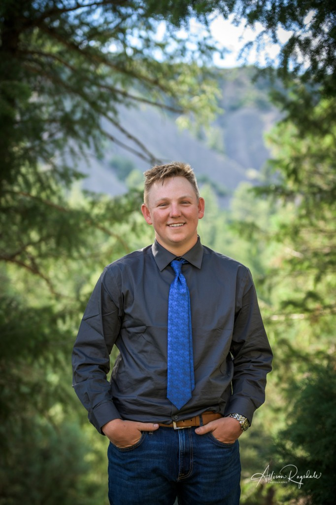 Outdoor Durango Colorado Senior Photography of Christian Swan