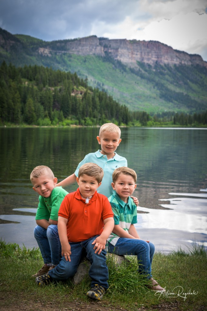 Adorable kid photos by lake, the Nygren Family
