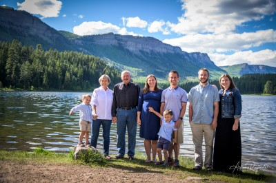 The Nadal Family Photos by lake
