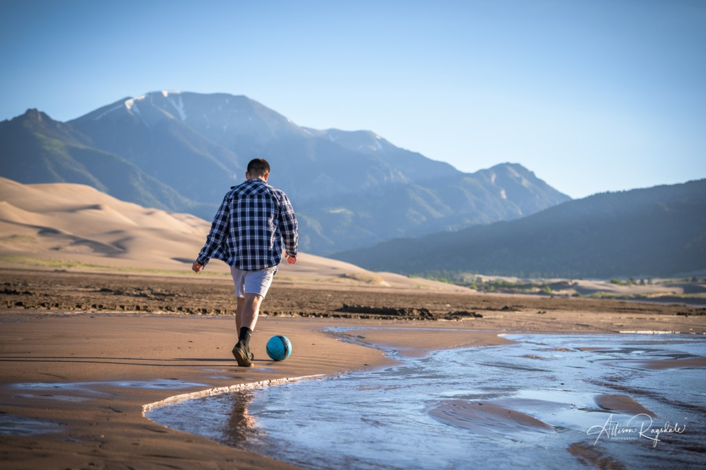 Great sand dunes senior pictures