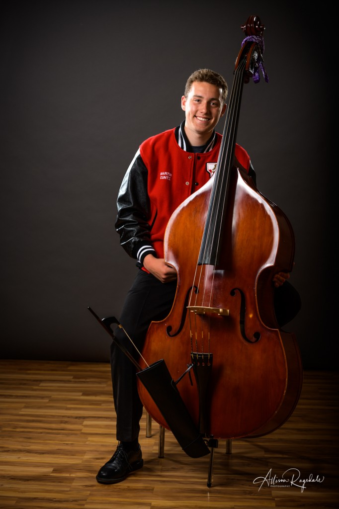 Senior pictures with cello