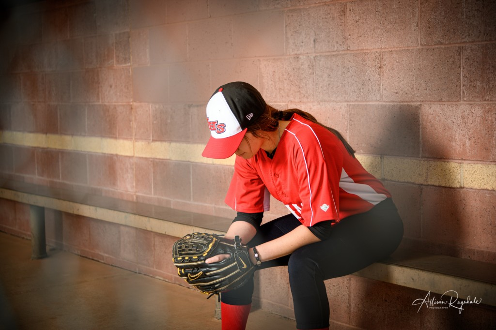 Durango, CO senior pictures for softball