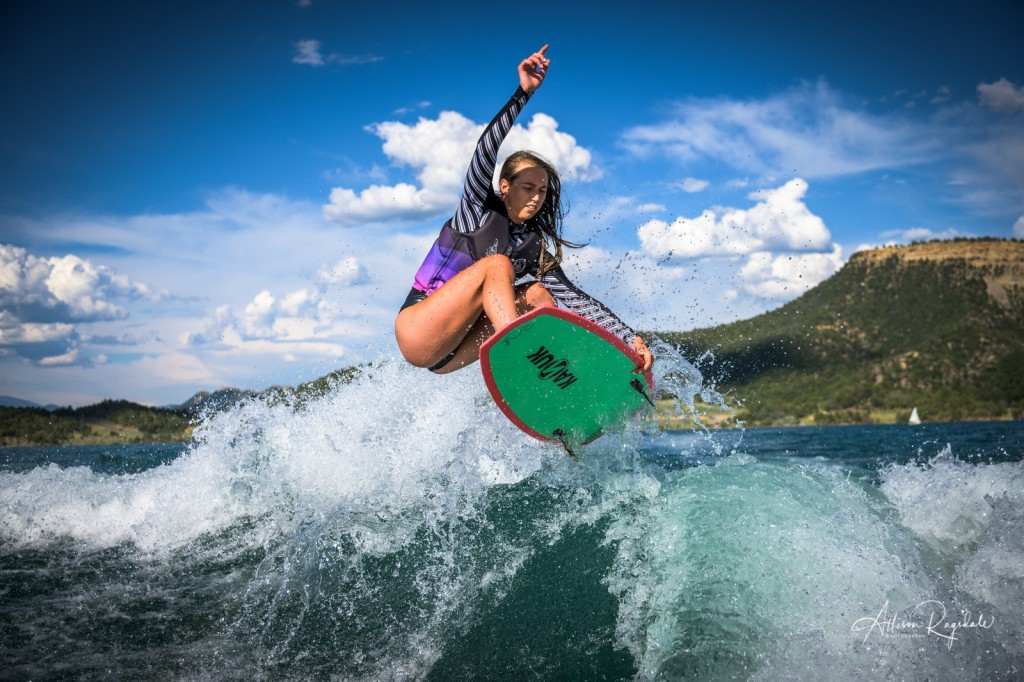 Surfing senior pictures