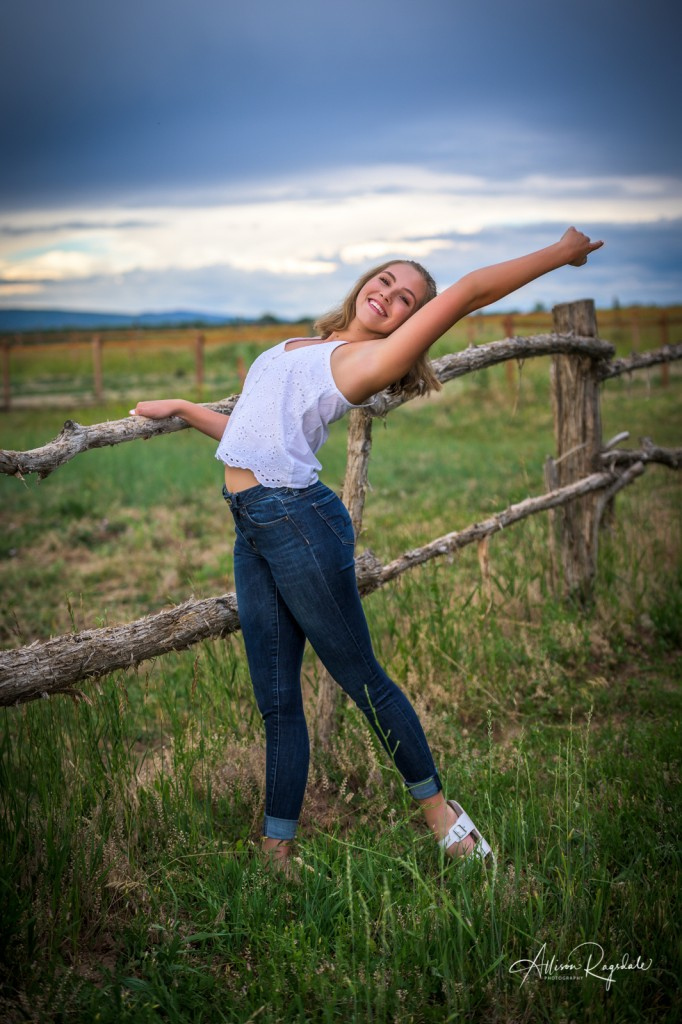 Dancing senior pictures for high school