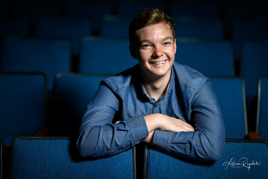 Cool senior pictures for theater kid