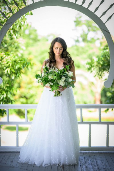 Durango Wedding Photography Bridal Portrait, Bride with bouquet in bridal portrait by durango wedding photographer