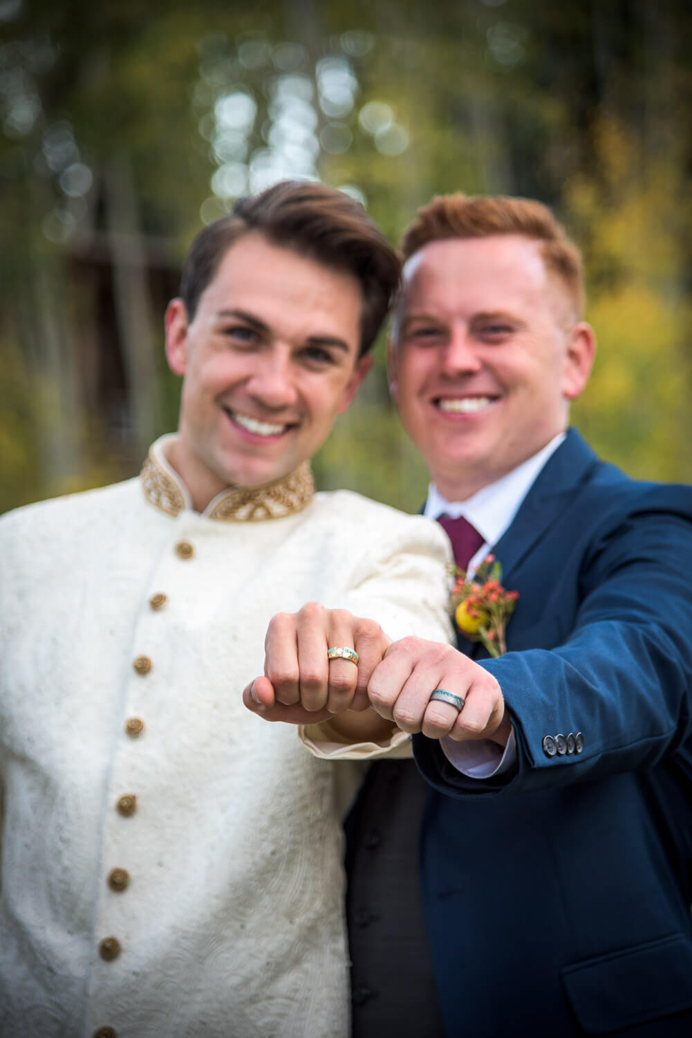 LGBTQ wedding at Irma J Ranch Durango CO