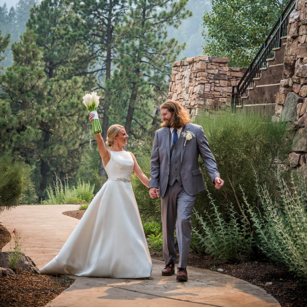 Glacier Club Wedding in Durango Colorado of Krista and Zach