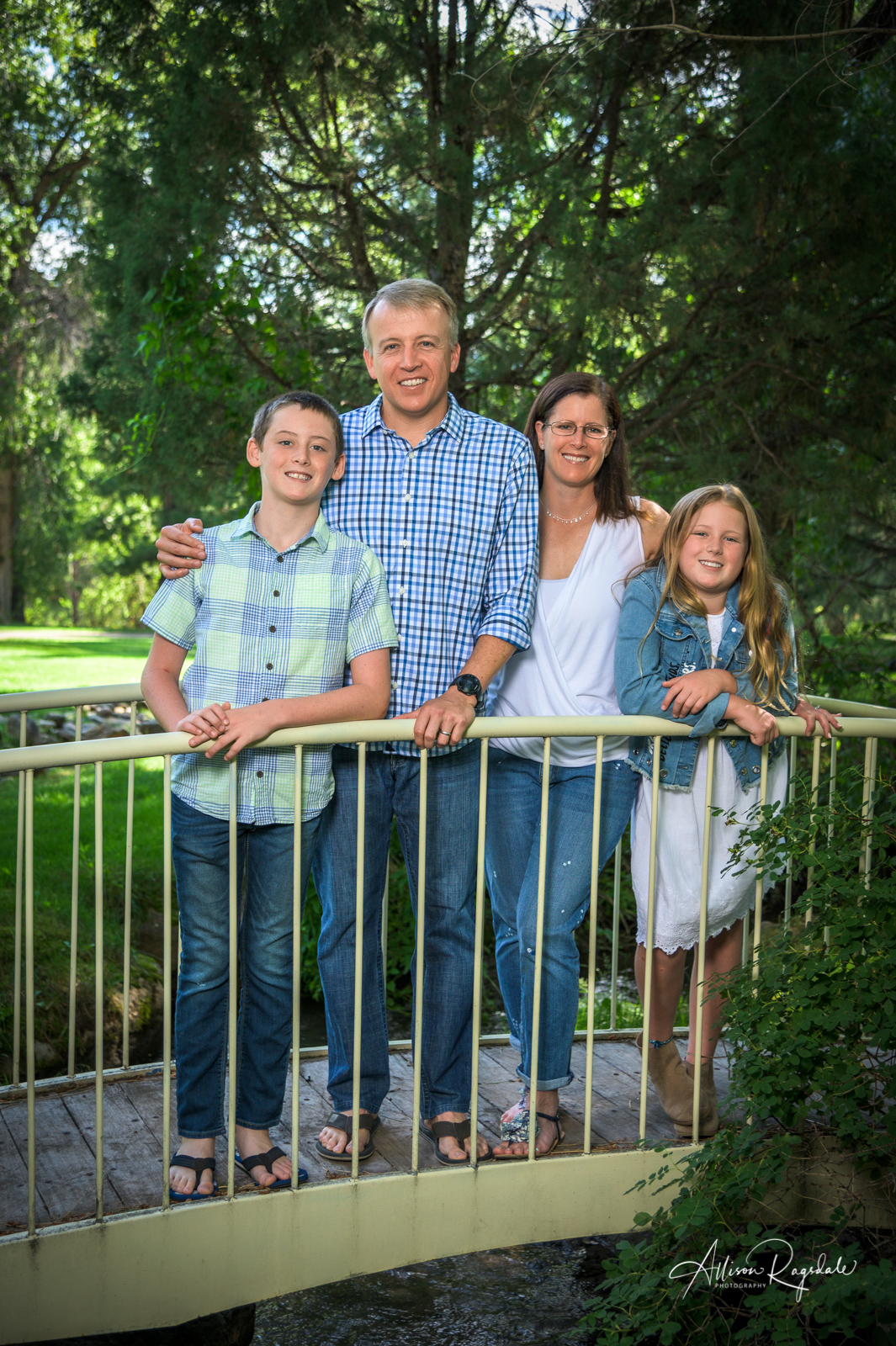 Cool family photos in Colorado