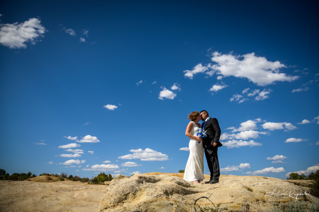 Desert wedding pictures