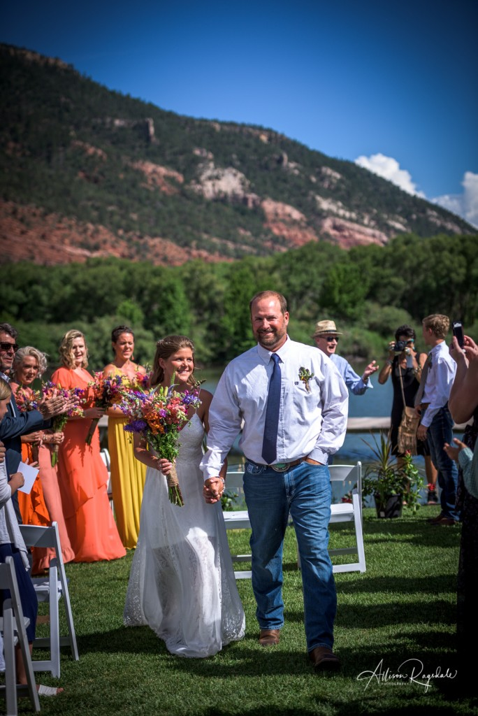 Wedding photos in Durango, CO
