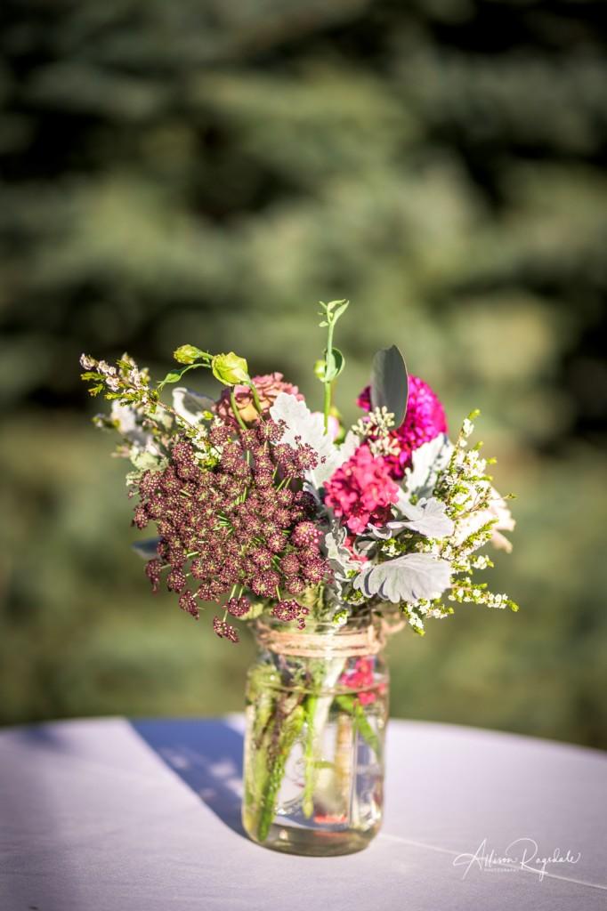 Flower wedding photography