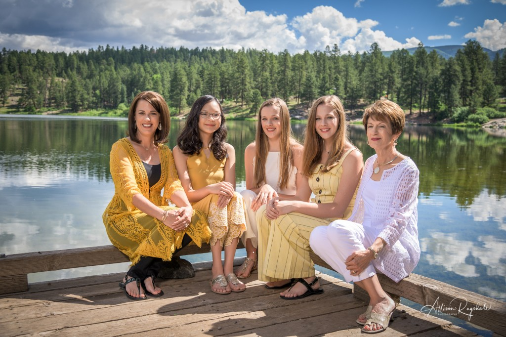 Gorgeous family pictures in Colorado