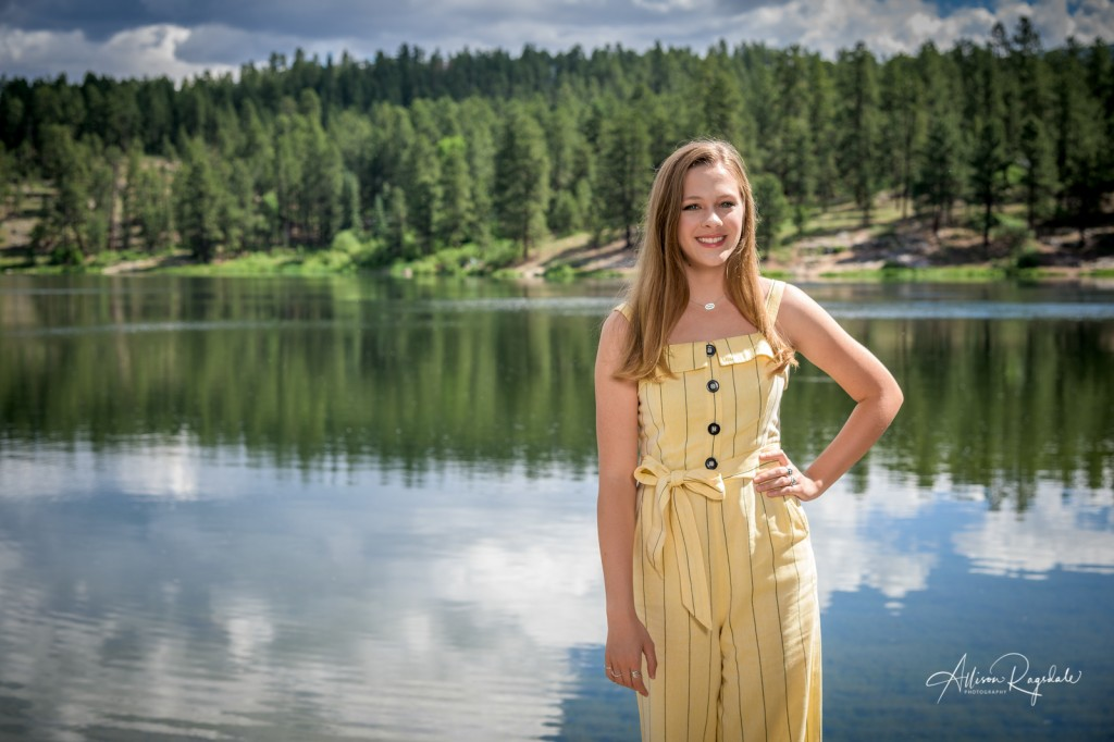 Beautiful pictures of girl by lake