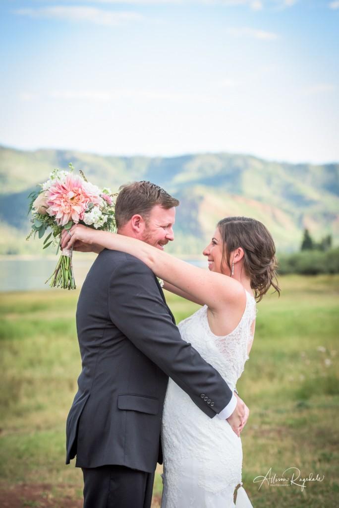 Pretty Vallecito weddings in Colorado