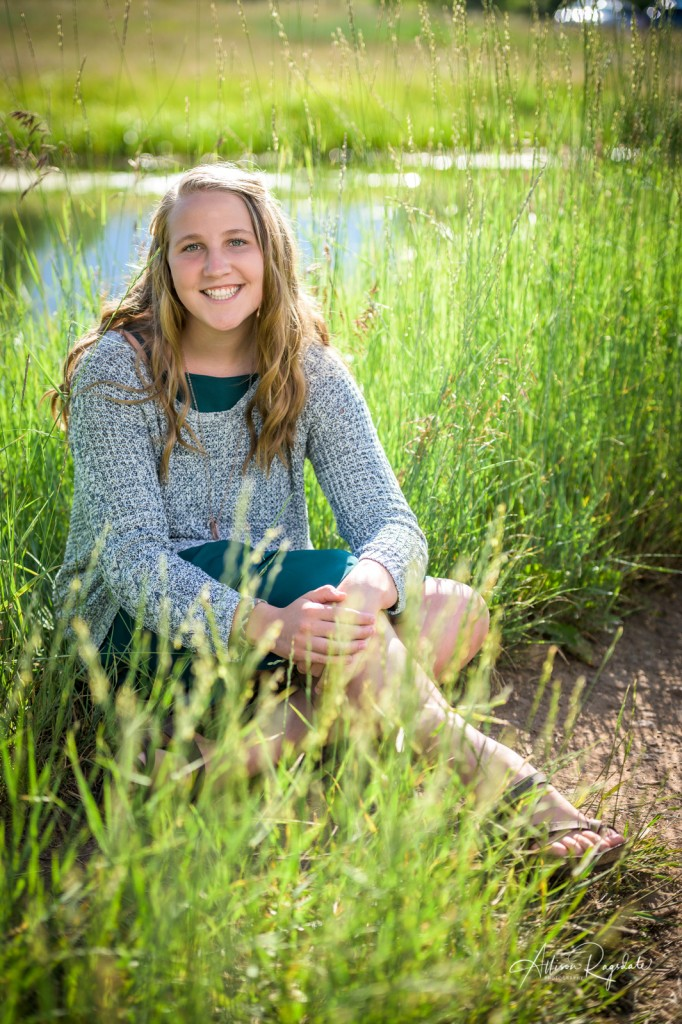 Pretty senior pictures in Durango, Co