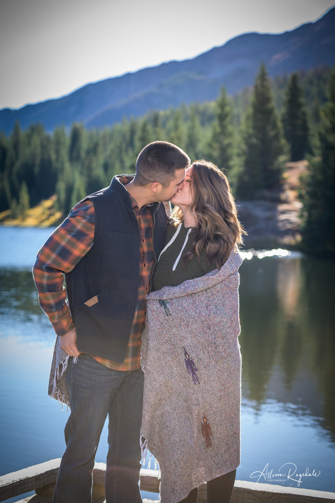 Engagement photos in Durango