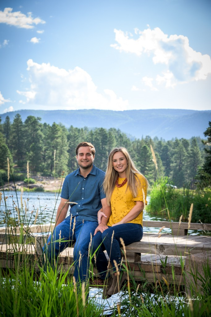 Adorable engagement photography in Durango