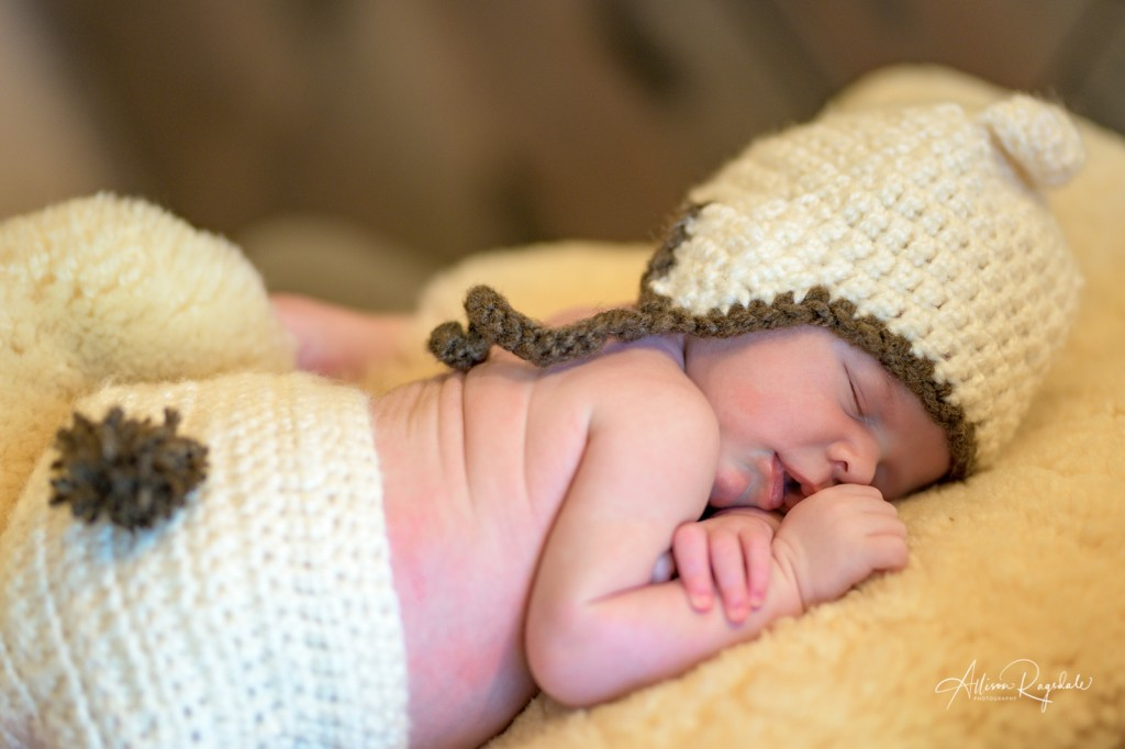 Adorable newborn pictures in Durango