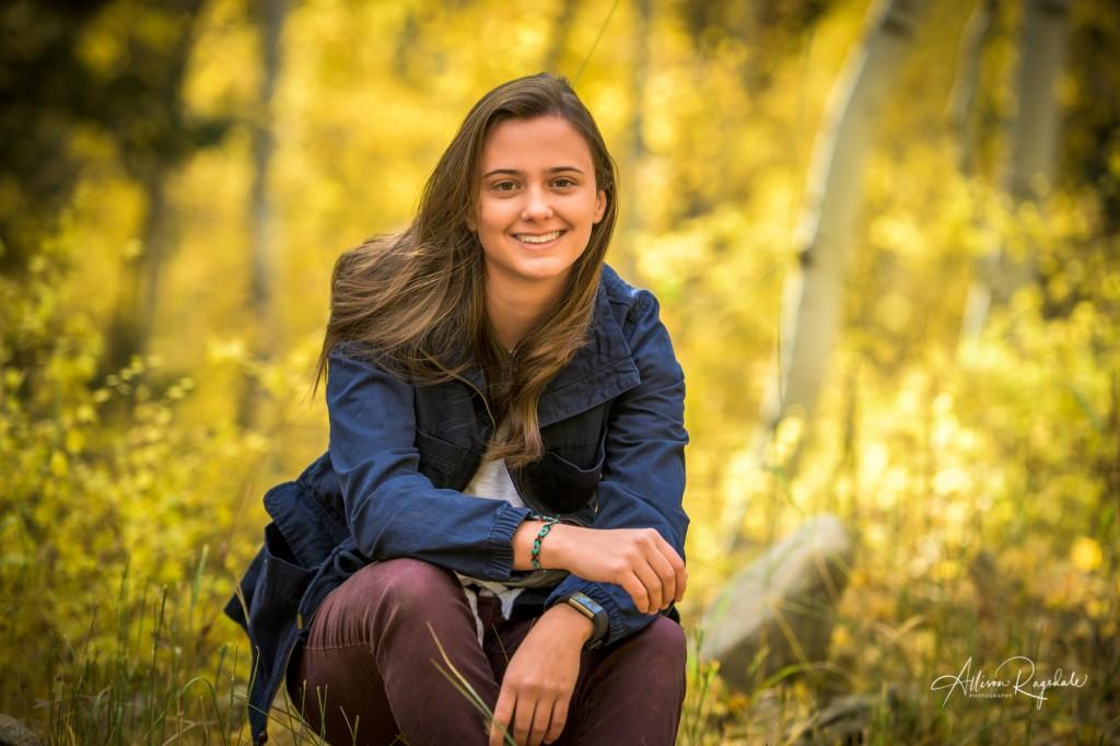 Fall senior pictures in Durango, co