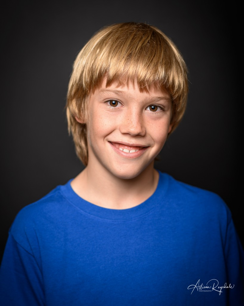 Kid model headshots, Durango, CO
