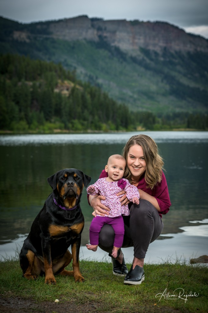 Pretty pictures at Haviland Lake in Durango, Family photos