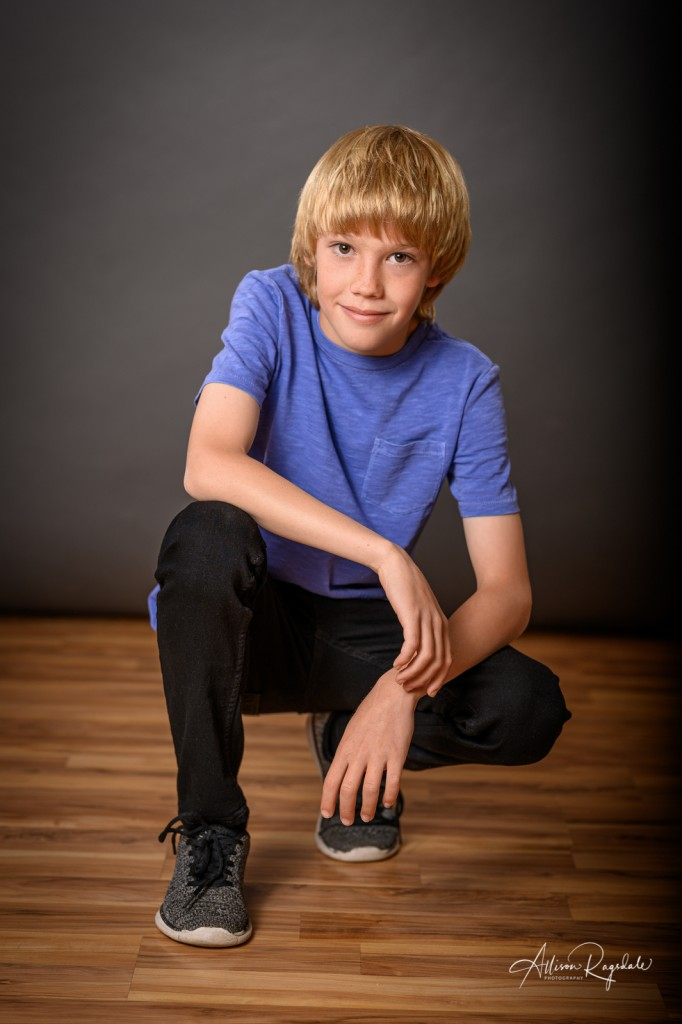 Child modeling headshots