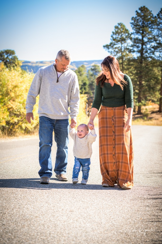Pretty family photos in Durango