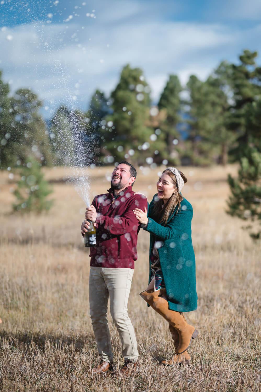 Durango Engagement Session - Celebrating Just getting engaged