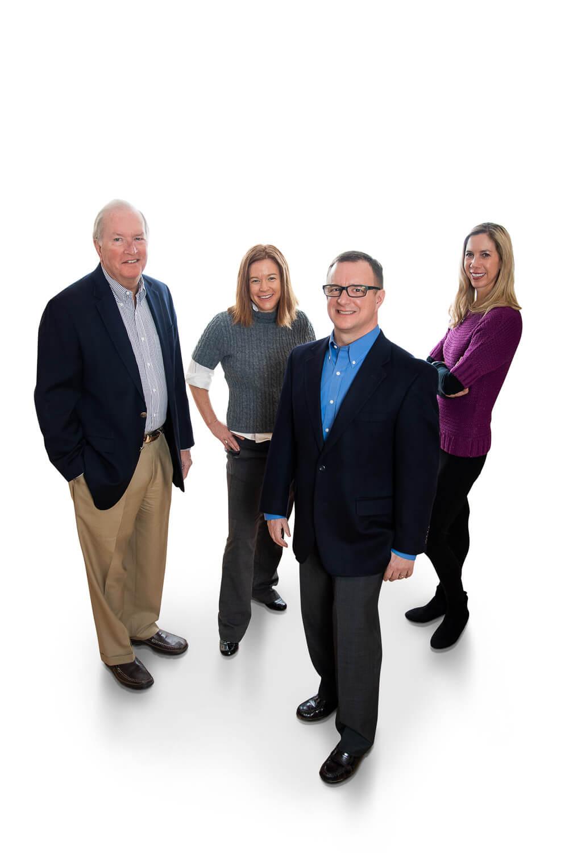Real Estate Team in White Background in Durango Colorado