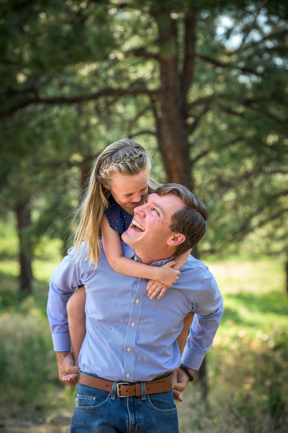 Dad and Daughter Photo idea by Durango Photographer Allison Ragsdale