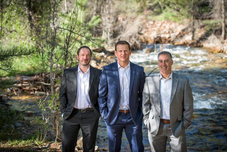 Suits and Outdoor Headshot in Durango