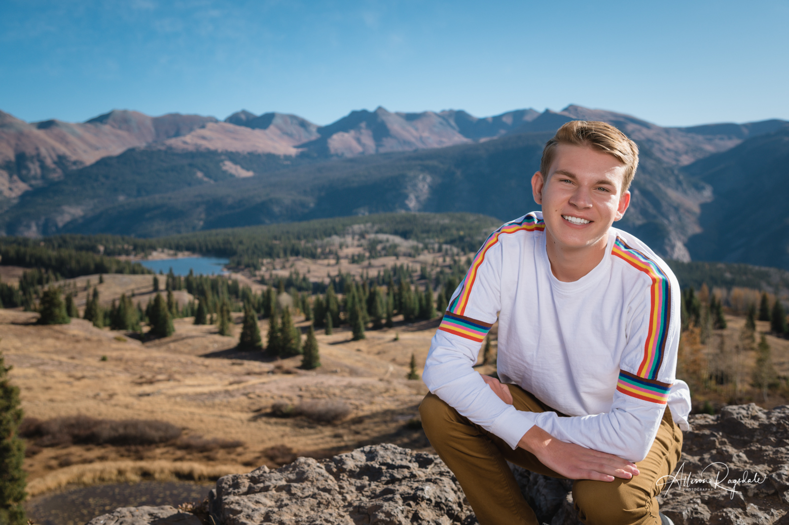 Mountain senior pictures