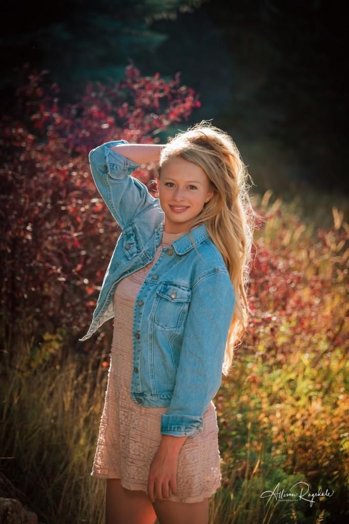 Cool senior pictures in Colorado