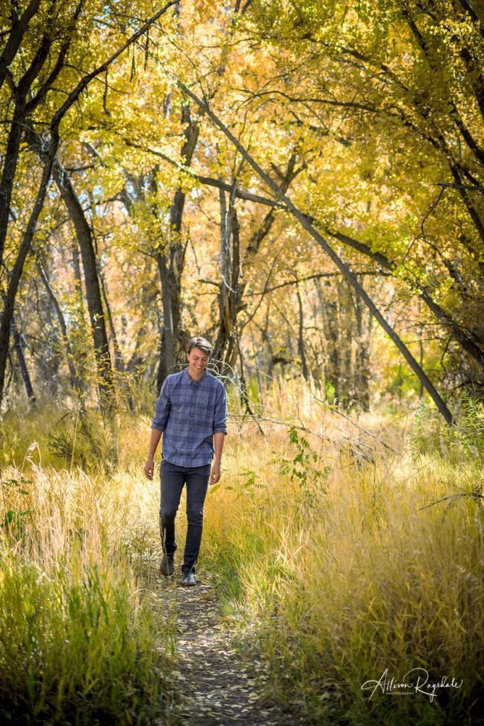 Fall senior photography in Durango