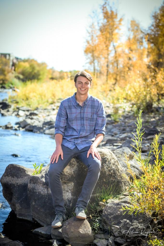 River senior photos