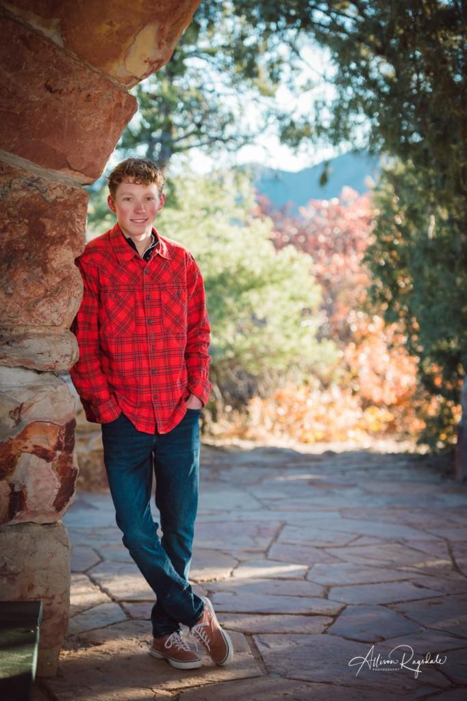 Senior pictures in Durango